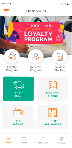 The Laundry-Hub Loyalty Program